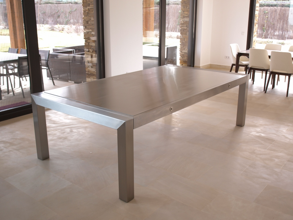 biljart eettafel bl 180 metal biljart. Black Bedroom Furniture Sets. Home Design Ideas