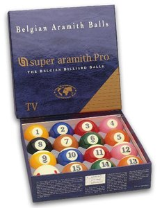 Poolballen Super Aramith pro TV