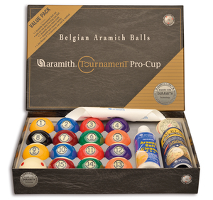 Poolballen Aramith Tournament Pro Cup Value Pack